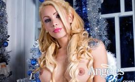 TS pornstar Angeles Cid naked