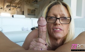 Geek TS Jenna Ranee in pov porn