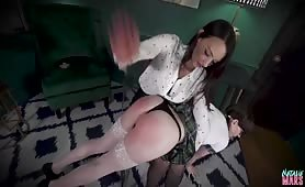 Natalie Mars spanked, fisted and pegged